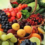 Stilleben mit Obst ohne Fleisch